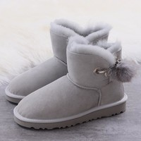 Women's UGG snow boots Low boots DHL _1686248855-386