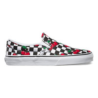Cherry Checkers Slip-On | Shop Classic Shoes at Vans