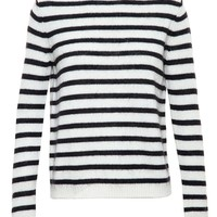 STELLA JEAN   Striped Wool Jumper   brownsfashion.com   The Finest Edit of Luxury Fashion   Clothes, Shoes, Bags and Accessories for Men & Women
