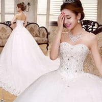 Casamento wedding dress vintage bridal gown mermaid wedding dress lace bride vestidos de noiva trailing wedding 2015 L002 = 1929446020