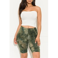 Top Of The World Shorts Olive