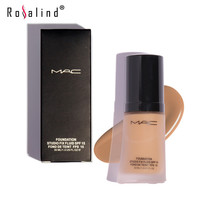 Rosalind Face Makeup  Liquid Foundation Good Cover Concealer Creamy Perfect Oil-control Smooth Base Face by MRC
