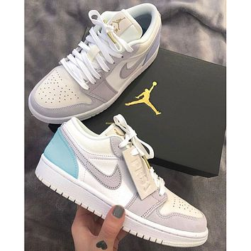 Air Jordan 1 Low couple casual sports shoes