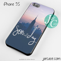 New York Someday Phone case for iPhone 4/4s/5/5c/5s/6/6 plus