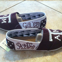 Custom Collegiate Gameday Aggie TOMS A&M University