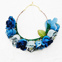 Kimchi Blue Flower Crown in Blue - Urban Outfitters