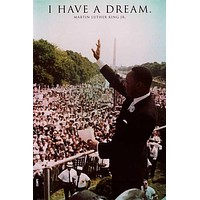 Martin Luther King Jr Dream in DC Poster 24x36