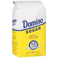 Domino Pure Cane Granulated Sugar, 4 lb - Walmart.com