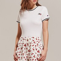 Champion + HVN for Urban Outfitters Cherry Track Short | Urban Outfitters