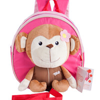 Korean Infant Knapsack Toddle Backpack Prevent From Getting Lose MonkeyA -