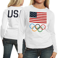 USA Olympics Women's The One Long Sleeve T-Shirt - White