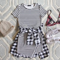The Riley Stripe Dress