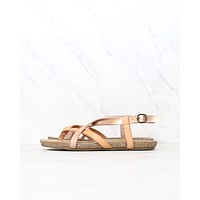 Blowfish - Women's Granola Fisherman Sandal in Blonde/Pearl Rose Gold/Blush
