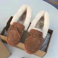 UGG Women Fashion Casual Flats Shoes-4