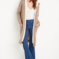 Faux Shearling Cardigan | Forever 21 - 2000180716