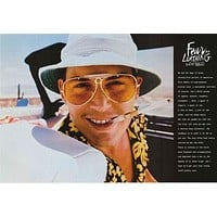 Fear and Loathing in Las Vegas Movie Quote Poster 24x36