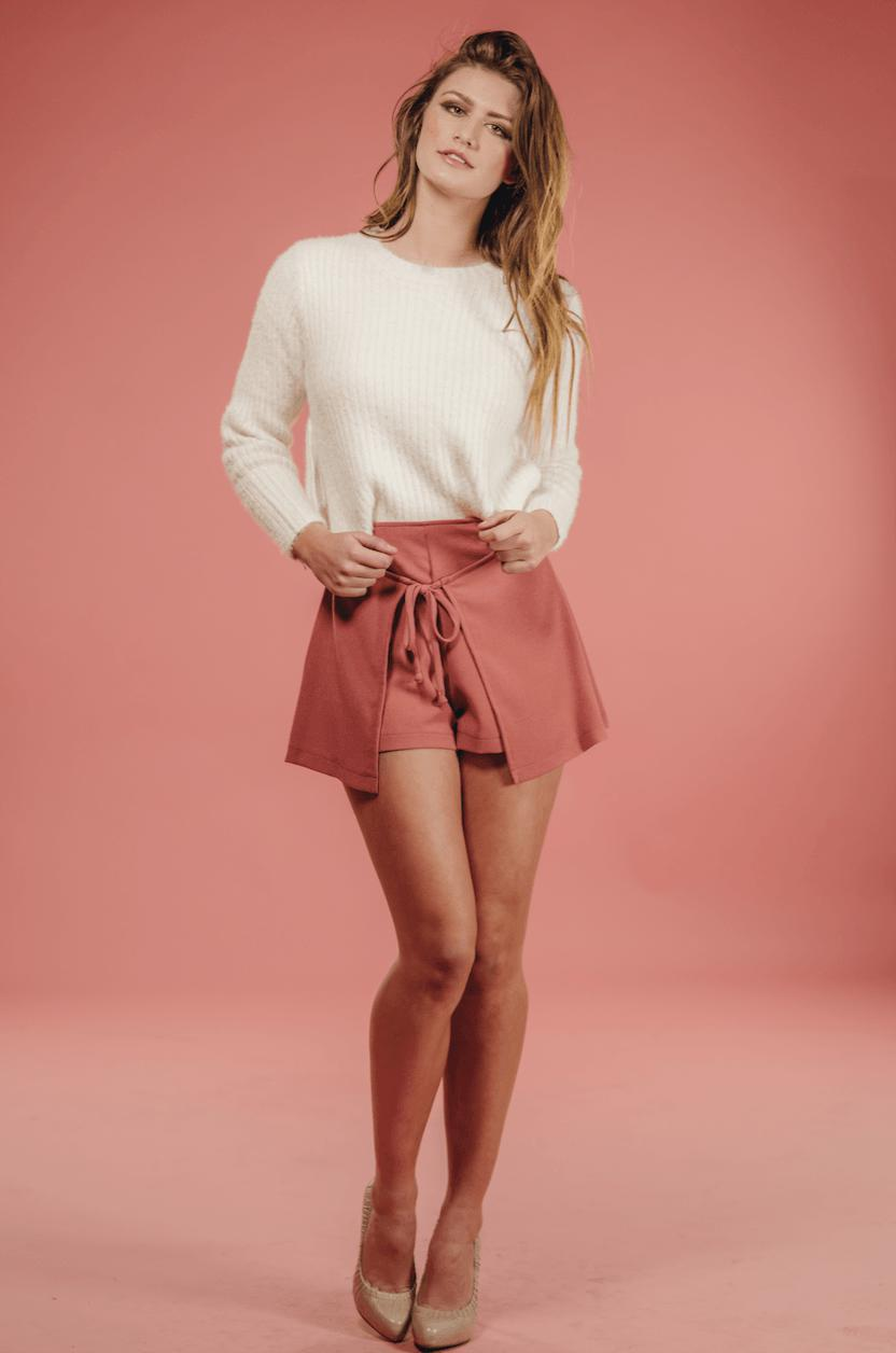Image of Pink Layer Short