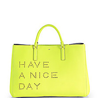 Anya Hindmarch - Ebury Have a Nice Day Tote - Saks Fifth Avenue Mobile