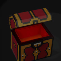 Legendary 8-Bit Treasure Chest with LEDs and Sound