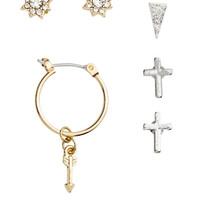 12 Pairs Earrings - from H&M