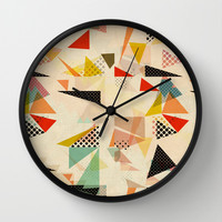 between shapes Wall Clock by SpinL