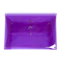 202 FACTORY MEDIUM TRANSPARENT NEON CLUTCH - WOMEN - BAGS - 202 FACTORY - OPENING CEREMONY
