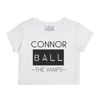 The Vamps Connor-Female Snow T-Shirt