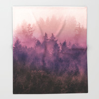 The Heart Of My Heart Throw Blanket by Tordis Kayma | Society6