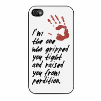 Supernatural Gripped You Tight iPhone 4s Case