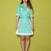 FINAL SALE GET 30% Off Twin Peaks Diner Dress Costume, Double R Diner Dress Active
