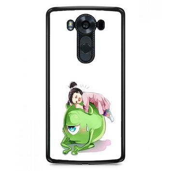 Monster Inc Cute Mike And Boo LG V30 Plus Case | Casefruits