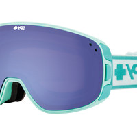 Spy - Bravo Elemental MInt Goggles, Blue Contact + Pink W/ Silver Mirror Lenses