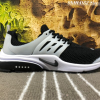 NIKE AIR PRESTO Net Surface Liht Running Shoes White Black