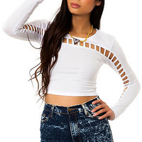 The Eddie Top in White