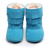 Frozen- Fur Lined Baby Boots