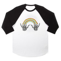 Louis Tomlinson Style raglan unisex tee shirt for adult men and women