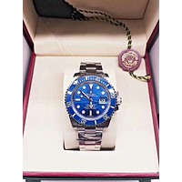 Rolex Watches Submariner Date Oyster White Gold | Blue Dial - Best Online Sale