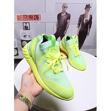 lv men fashion boots fashionable casual leather breathable sneakers running shoes 114