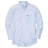 Weekend Shirt in Blue/White by Southern Proper