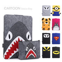 Cartoon Pattern Laptop Notebook Sleeve Bag Case For Apple Macbook Air Pro Retina 11 12 13 15 Laptop Cover For Mac book 13.3 inch