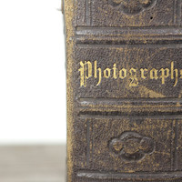 Antique Leather Photograph Album Book by SnootieBooty on Etsy