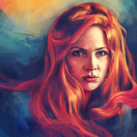 Amy Pond Art Print by Alice X. Zhang | Society6