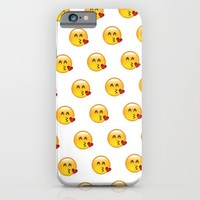 kissy; iPhone & iPod Case by Pink Berry Patterns