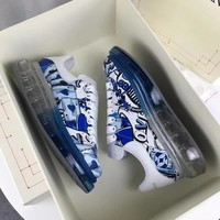 Alexander Mcqueen Graffiti Oversized Sneakers With Air Cushion Sole Reference #0120 - Best Deal Online