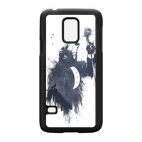 Wolf Song 3 Black Hard Plastic Case for Samsung Galaxy S5 Mini by Balazs Solti