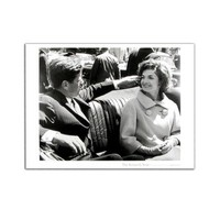 JFK and Jackie 1961 Poster at the John F. Kennedy Presidential Library and Museum's Online Store