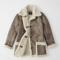Womens Shearling Coat | Womens Coats & Jackets | Abercrombie.com