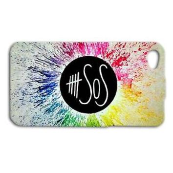 Cute Colorful Fun 5 SOS Five Seconds of Summer Case iPhone 4 4s 5s 5c 6 6s iPod
