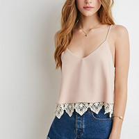 Crochet-Layered Cami