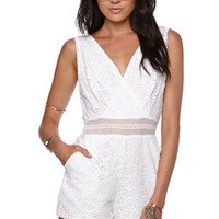 Kendall & Kylie Wrap Romper at PacSun.com